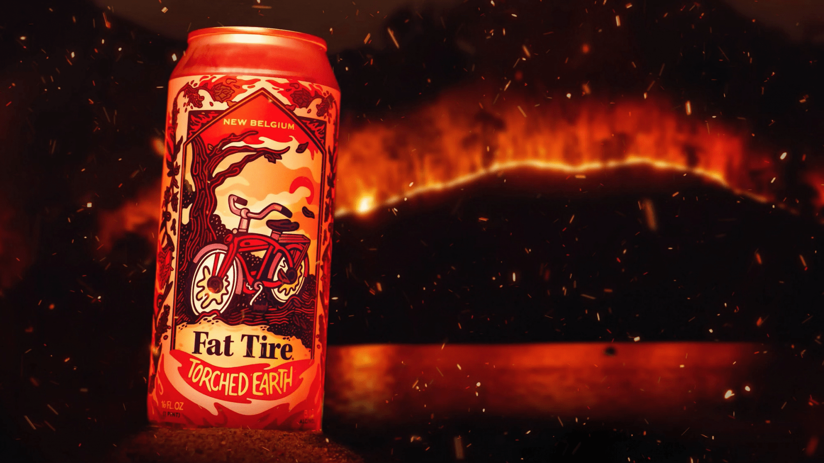 """""""Torched Earth Ale"""" © New Belgium Brewing"""